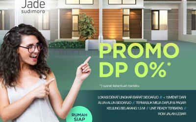 PROMO NOVEMBER DP 0% JADE SUDIMORO