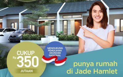NEW CLUSTER IVORY 3 CUKUP 350 JUTAAN – JADE HAMLET